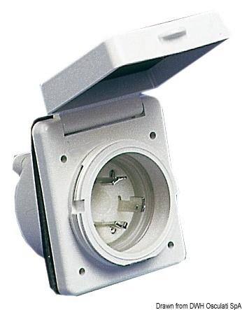 Verticale aperto grande in alluminioMarca ClamCleatCL220