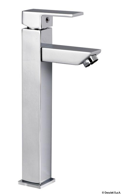 Rubinetto lavello bagno alto square da usare con lavelli tipo sporgente osculati rubinetti e - Rubinetto bagno alto ...