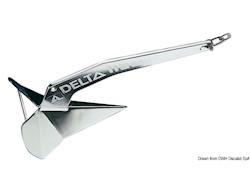 Ancora LEWMAR Delta® in acciaio inox