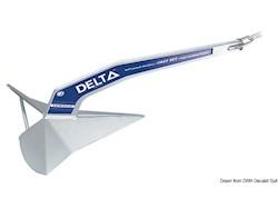 Ancora LEWMAR Delta® in acciaio zincato