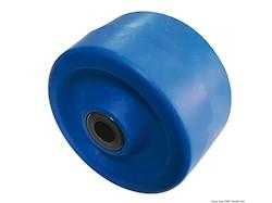Rullo laterale blu 135x75 mm foro 22 mm