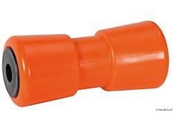 Rullo centrale arancio 185 mm Ø foro 21 mm