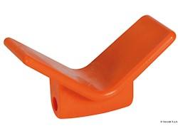 Fermaprua arancio in poliuretano 105 x 67 x 124 mm