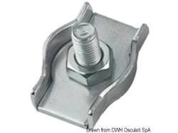 Morsetti inox semplici 2 mm