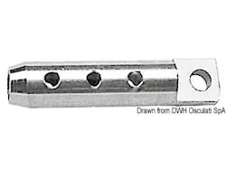 Terminale inox per draglia occhio Ø 6 mm