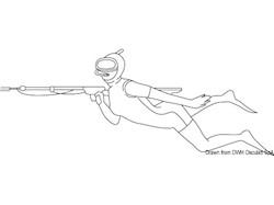 Treccia di ricambio per fucili sub