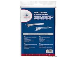 Proteggi tenditore in poliestere bianco resistente UV