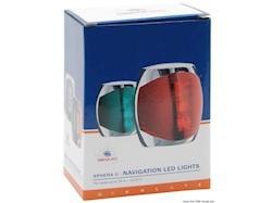 Luci di via Sphera II a LED fino 20 m, corpo in acciaio inox lucidato a specchio
