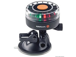 Lampada Navisafe 360° tricolore supporto a ventosa