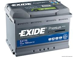 Batterie EXIDE Premium per avviamento e servizi di bordo