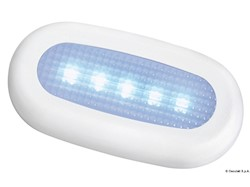 Luce di cortesia stagna 5 LED blu