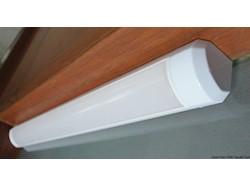 Luce LED 12/24 V 2,4 W 3500 K angolare