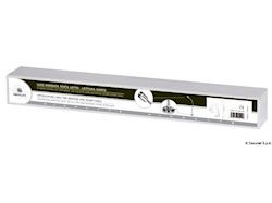 Faretto LED snodato testa letto/lettura carte