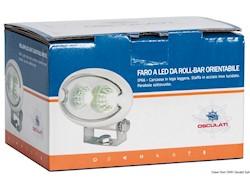 Faro LED HD 2x3W da roll-bar orientabile