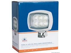 Faro LED HD 6x3W da roll-bar orientabile