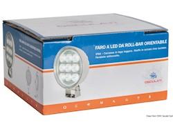 Faro LED HD 9x3W da roll-bar orientabile