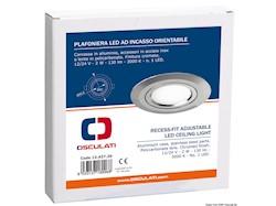 Plafoniera LED ad incasso orientabile