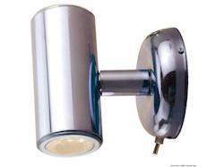 Faretto LED fisso con doppia luce