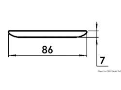 Plafoniera LED senza incasso day/night Procion