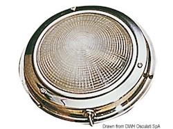 Plafoniera inox 175 mm
