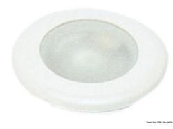 Plafoniera Nova ABS bianco