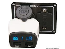 Monitor batteria + presa USB