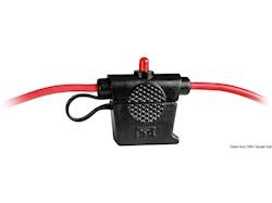 Portafusibile stagno con LED di allarme