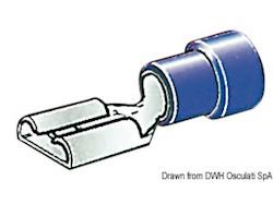 Faston preisolati da 4,7 mm, 6,3 mm e 9,5 mm