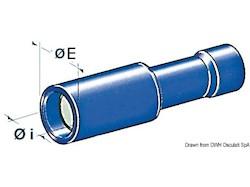 Terminali preisolati cilindrici