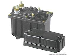 Staccabatteria automatico unipolare<br />(teleruttore generale di corrente con alimentazione separata della bobina)