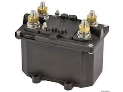 Staccabatteria automatico bipolare<br />(teleruttore generale di corrente con alimentazione separata della bobina)