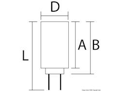 Lampadina LED SMD zoccolo G4 per faretti