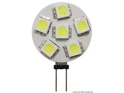 Lampadina 6 LED G4 Ø 24 mm attaco laterale