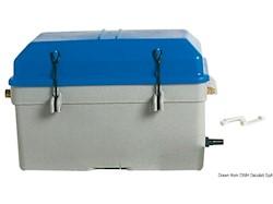 Cassetta portabatteria a tenuta stagna con ventilazione