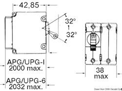 Interruttore AIRPAX / SENSATA automatici magneto/idraulici bipolari per corrente continua