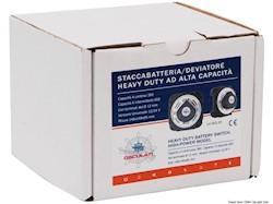 Staccabatteria/deviatore Heavy Duty ad alta capacità
