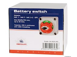 Deviatore batteria
