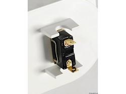 Box doccia con doccia a pulsante Mizar con interruttore stagno acceso/spento