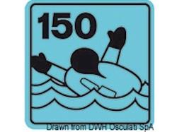 Salvagente autogonfiabile Security 165 N (EN ISO 12402-3) con gonfiaggio idrostatico HAMMAR
