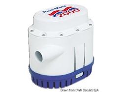 Pompa Rule automatica 129 l/min 12 V