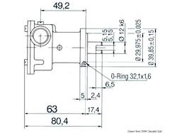 Pompa tipo NAUCO ST114, flangiata, applicazione diretta sul motore