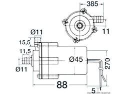 Pompa centrifuga per lavello