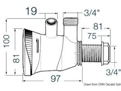 Pompa elettrica ATTWOOD per aerazione e ricircolo acqua nelle vasche pesci ed esche