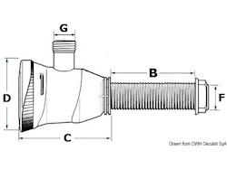 Pompa elettrica ATTWOOD per aerazione e ricircolo acqua