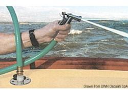 Attacco a baionetta a filo per lavaggio ponte