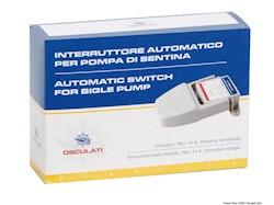 Interruttore automatico ecologico per qualsiasi pompa di sentina