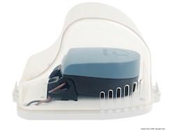 Protezione apribile per interruttori automatici pompe di sentina