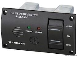 Pannello di controllo per pompe di sentina con allarme sonoro