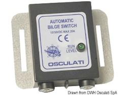 Interruttore elettronico automatico per pompa di sentina