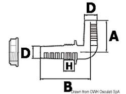 Passaparatia in termopolimero ad alta resistenza